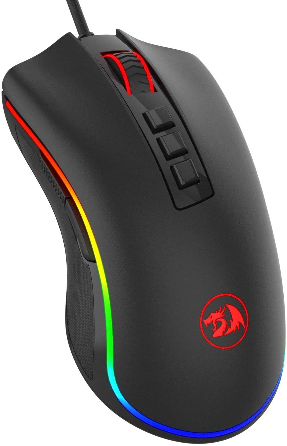 Redragon M711 Cobra Gaming Mouse with 16.8 Million RGB Color Backlit, 10,000 DPI Adjustable