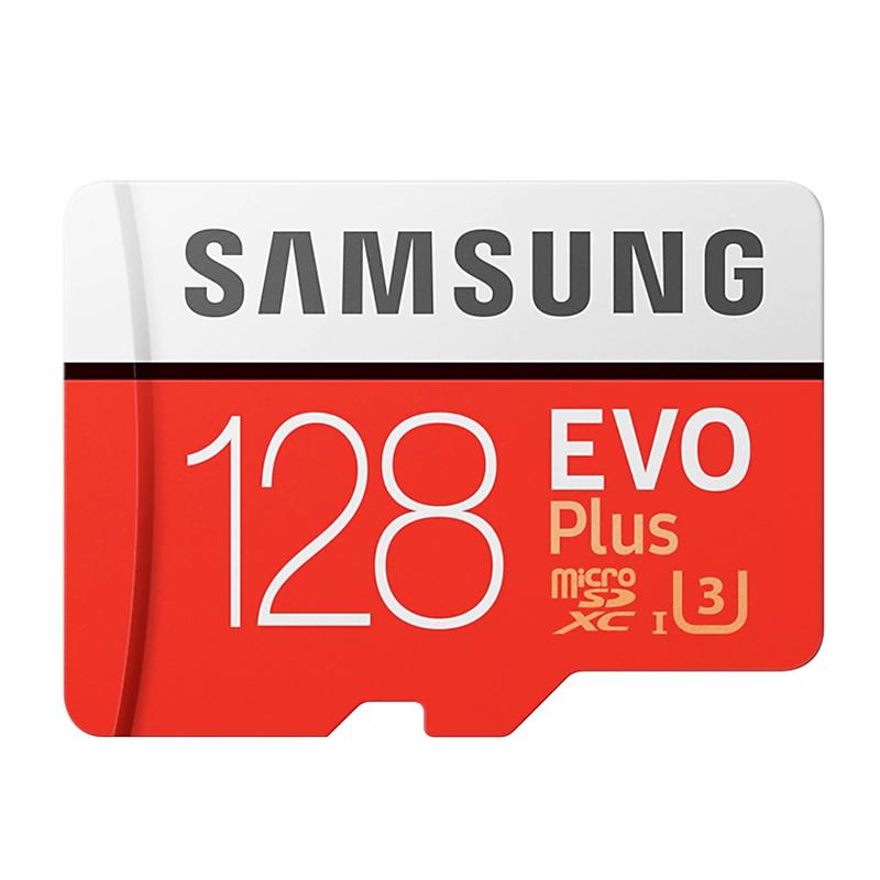 Samsung EVO Plus 128GB C10 100MB/s MicroSDXC Card