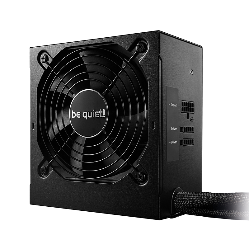 be quiet! 500W System Power 9 80+ Bronze Power Supply (BN919)