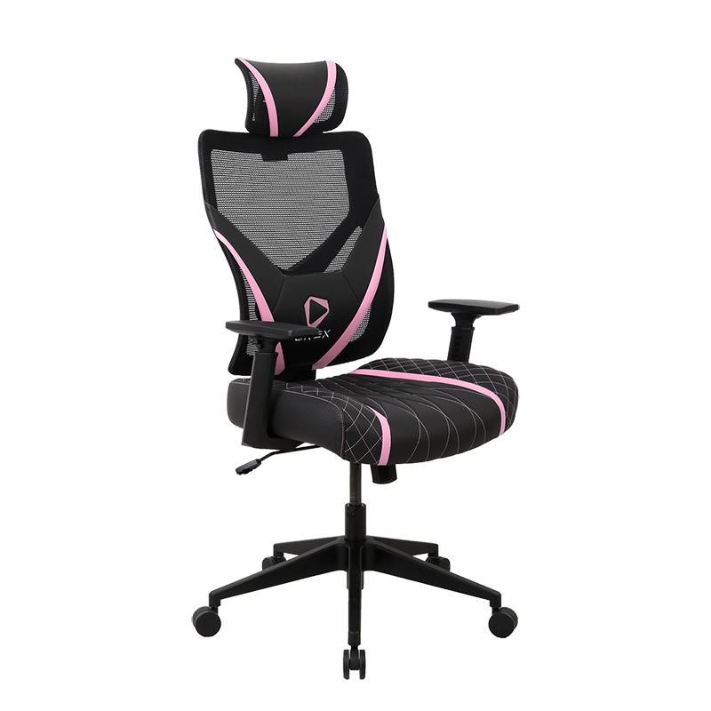 ONEX GE300 Ergonomic Gaming Chair - Black/Pink