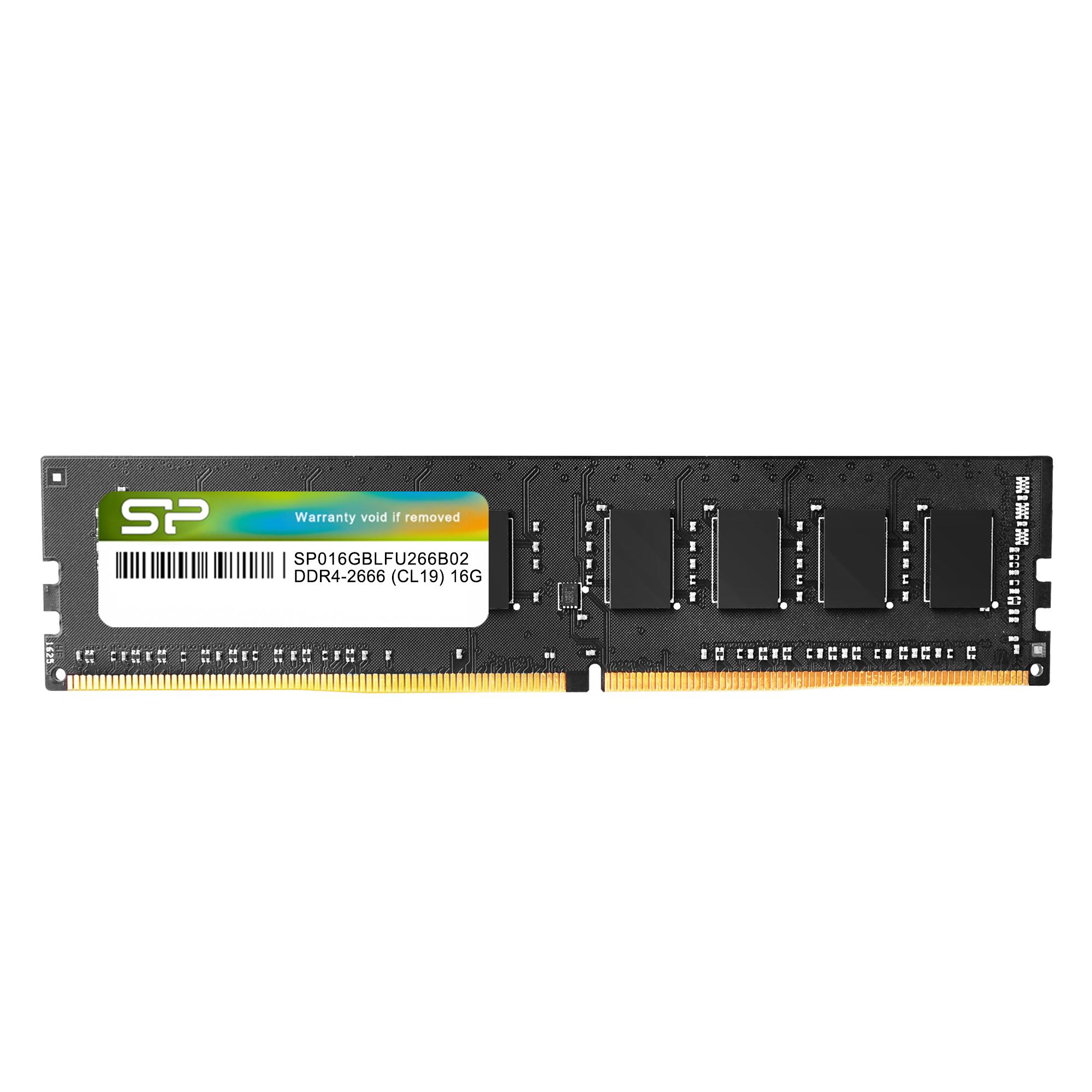Silicon Power 16GB DDR4 2666MHz UDIMM Desktop Memory