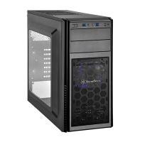 Silverstone Precision PS11B-Q Black Case, No PSU, 2x USB 3.0