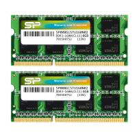 Silicon Power 16GB (2x8G) SP016GLSTU160N22 DDR3 1600MHz PC3-12800 1.35V CL11 SODIMM RAM