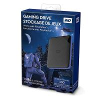 Western Digital 4TB Gaming Drive Works with PS4 - Black