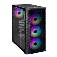 SilverStone Fara B1 Lucid Rainbow RGB TG Mid Tower ATX Case