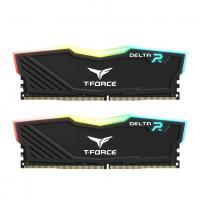 Team 16GB (2x8GB) TF3D416G3200HC16CDC01 T-Force Delta RGB 3200MHz DDR4 RAM - Black