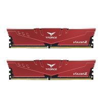 Team 16GB (2x8GB) TLZRD416G3200HC16CDC01 T-Force Vulcan Z 3200MHz DDR4 RAM - Red