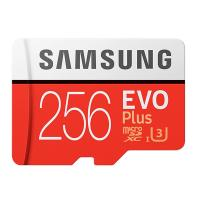 Samsung EVO Plus 256GB C10 100MB/s MicroSDXC Card
