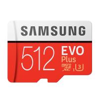 Samsung EVO Plus 512GB C10 100MB/s MicroSDXC Card