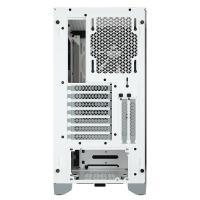 Corsair 4000D TG Mid Tower ATX Case - White
