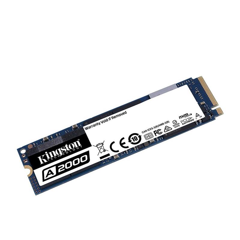Kingston 250GB A2000 M.2 NVMe SSD