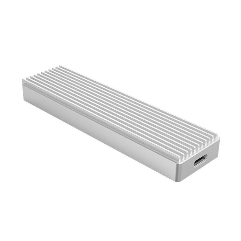Orico Aluminum USB 3.1 to M.2 NVMe SSD Enclosure - Silver