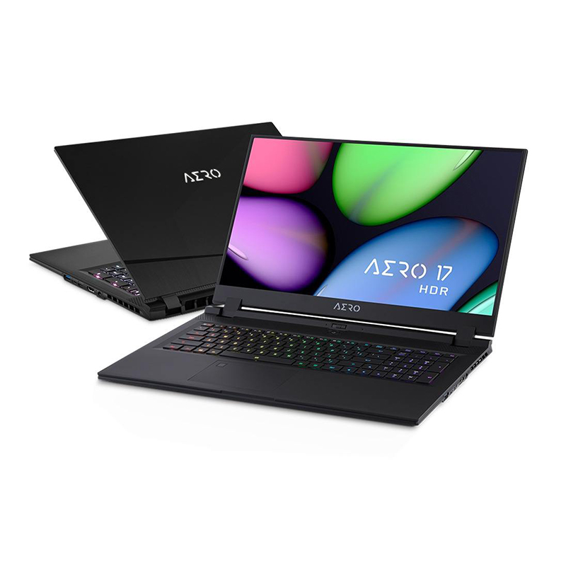 Gigabyte Aero 17.3in UHD i7-10875H RTX2070 Super 512GB SSD 16GB RAM W10P Gaming Laptop (AERO-17-HDR-XB-8AU4130SP)