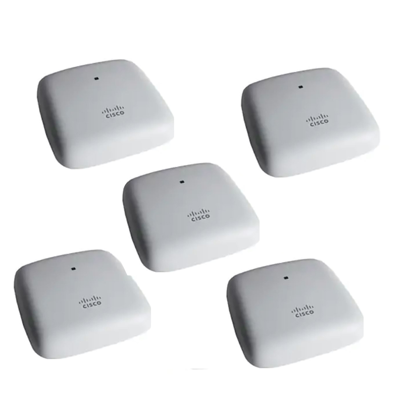 Cisco Wave 2 Ceiling Mount Access Point - 5P (5-CBW140AC-Z)
