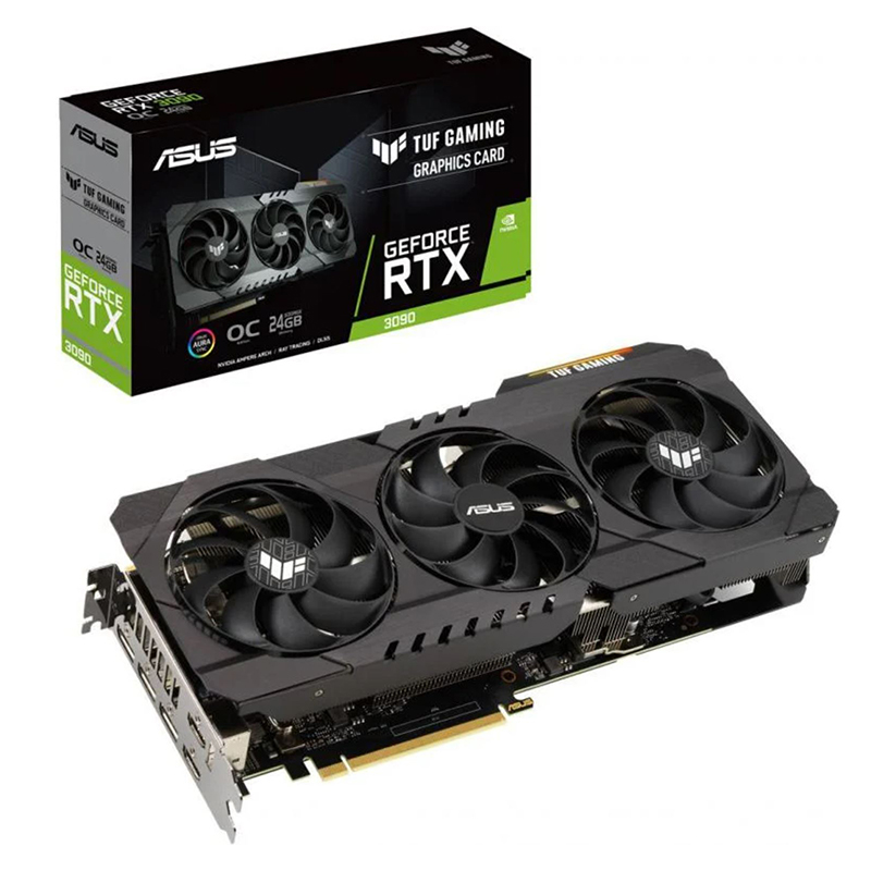 Asus GeForce RTX 3090 TUF Gaming OC 24G Graphics Card