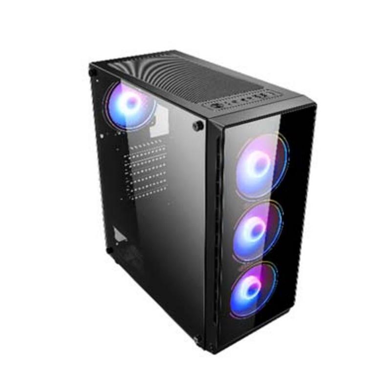 Windowed Mid Tower ATX Case (G-RGB Fan Set)