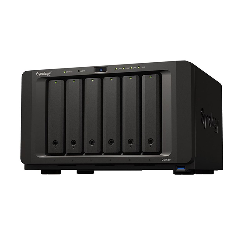 Synology DiskStation DS1621+ 6 Bay Ryzen Quad Core 4GB NAS