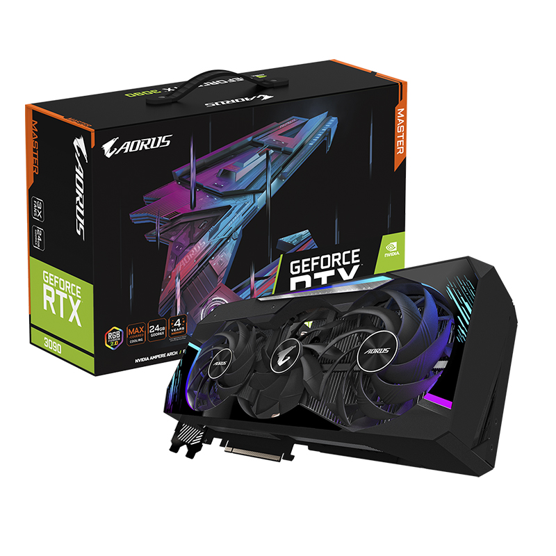 Gigabyte Aorus GeForce RTX 3090 Master 24G Graphics Card