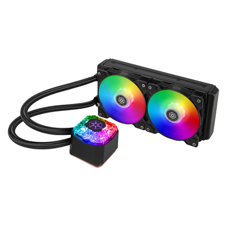 SilverStone IceGem 240P ARGB AIO Liquid CPU Cooler