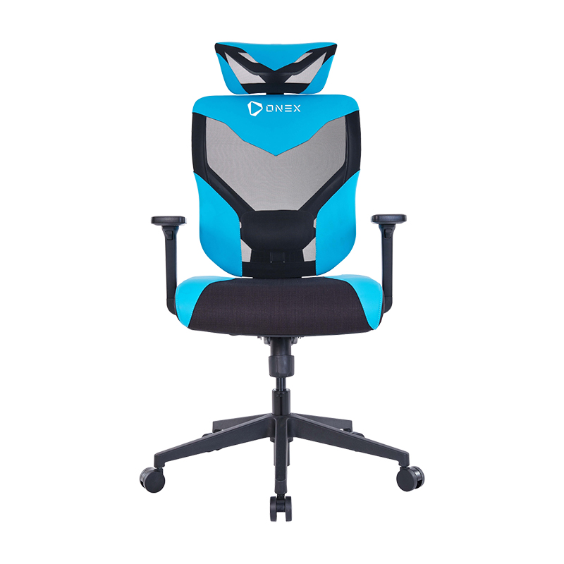 ONEX Black Vida Ergonomic Gaming Chair - Black/Blue