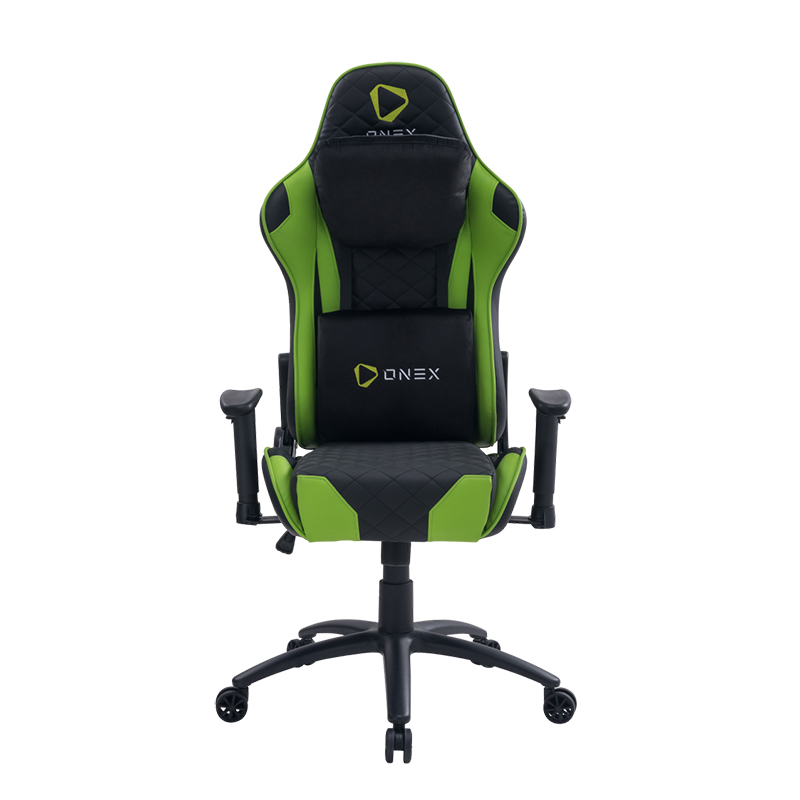 ONEX GX330 Series Gaming Chair - Black/Green