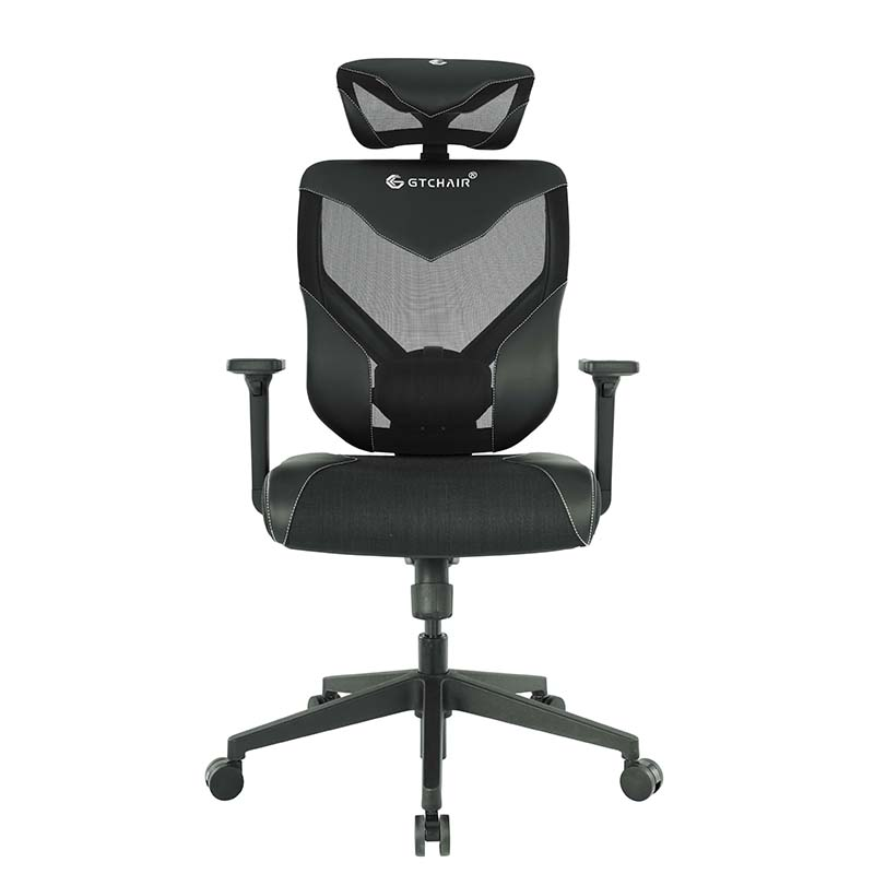 GTCHAIR Black Vida Ergonomic Gaming Chair - Black