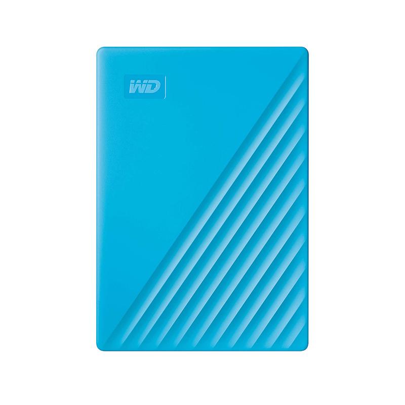 Western Digital 4TB My Passport USB 3.2 External HDD - Blue