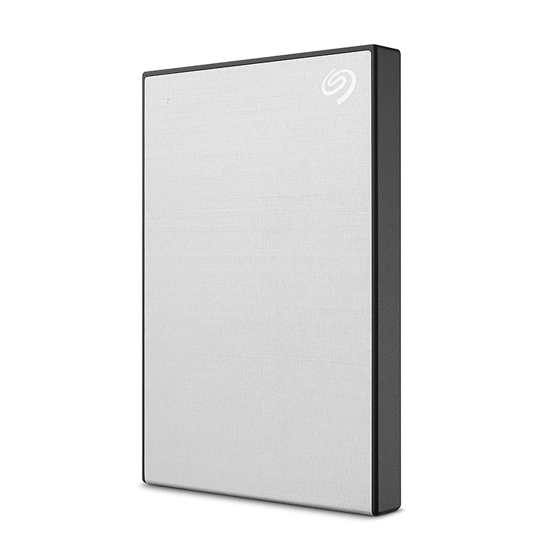 Seagate 1TB Backup Plus Slim USB 3.0 Portable External HDD - Silver