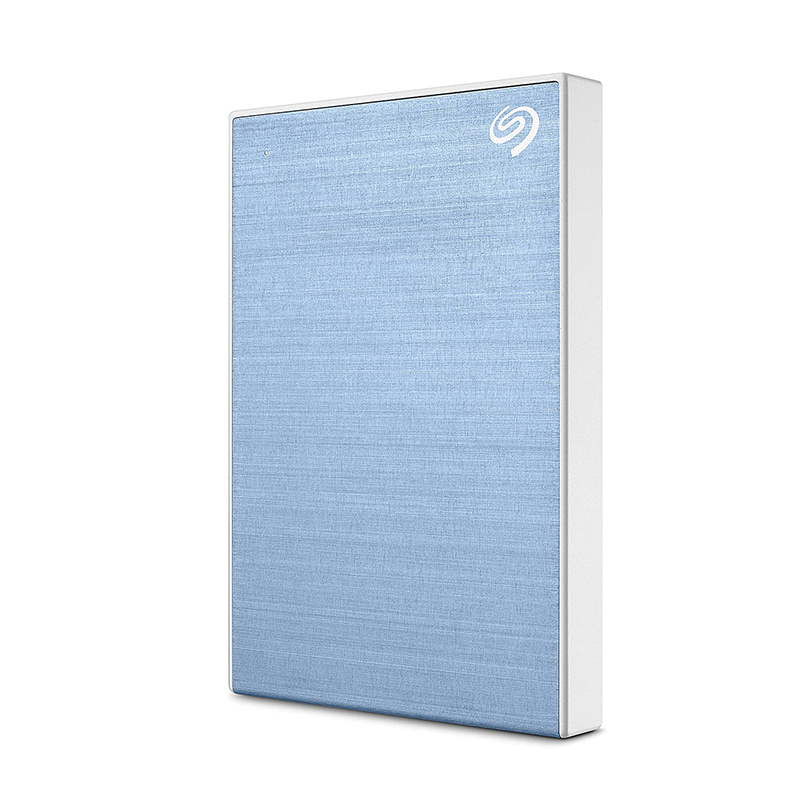Seagate 1TB Backup Plus Slim USB 3.0 Portable External HDD - Blue