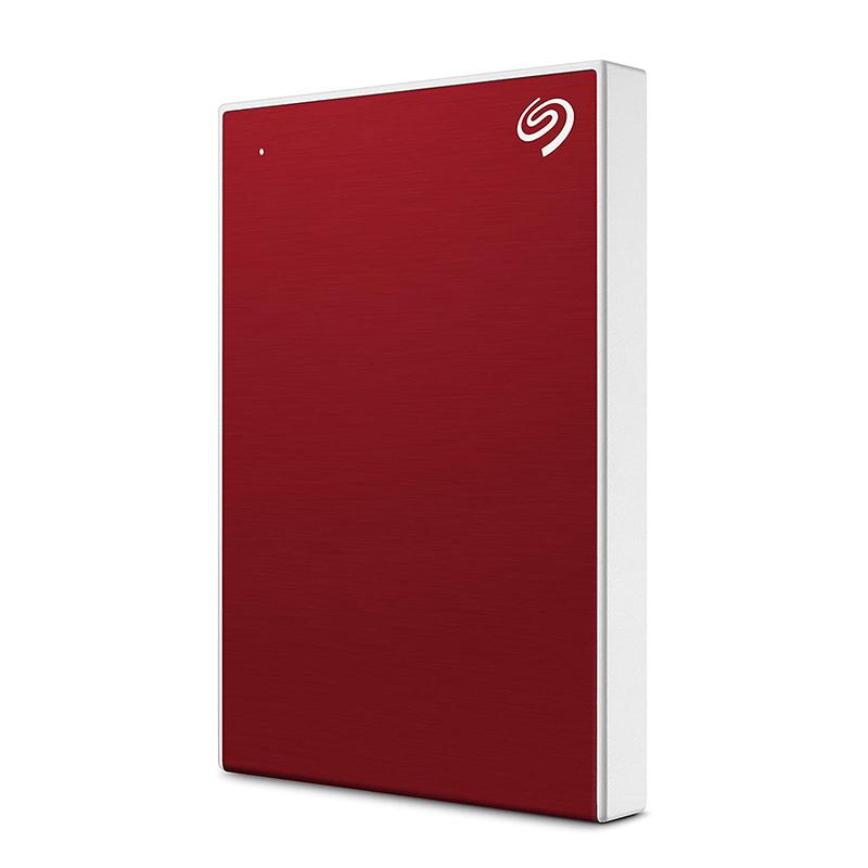 Seagate 2TB Backup Plus Slim USB 3.0 Portable External HDD - Red