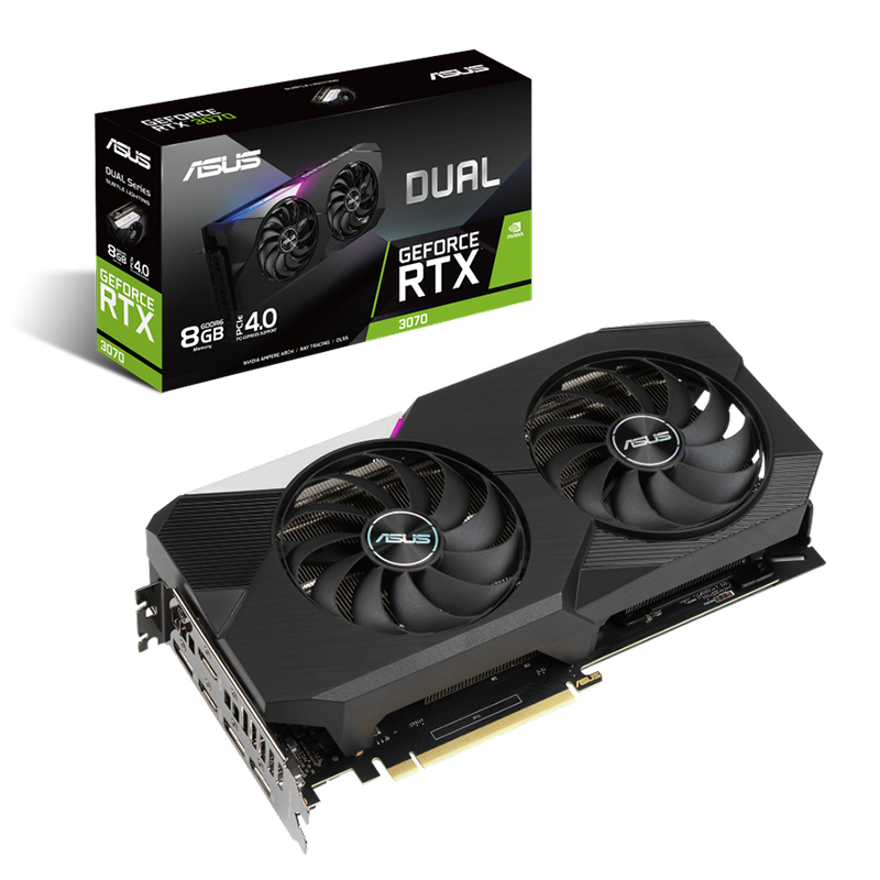 Asus GeForce RTX 3070 Dual 8G Graphics Card