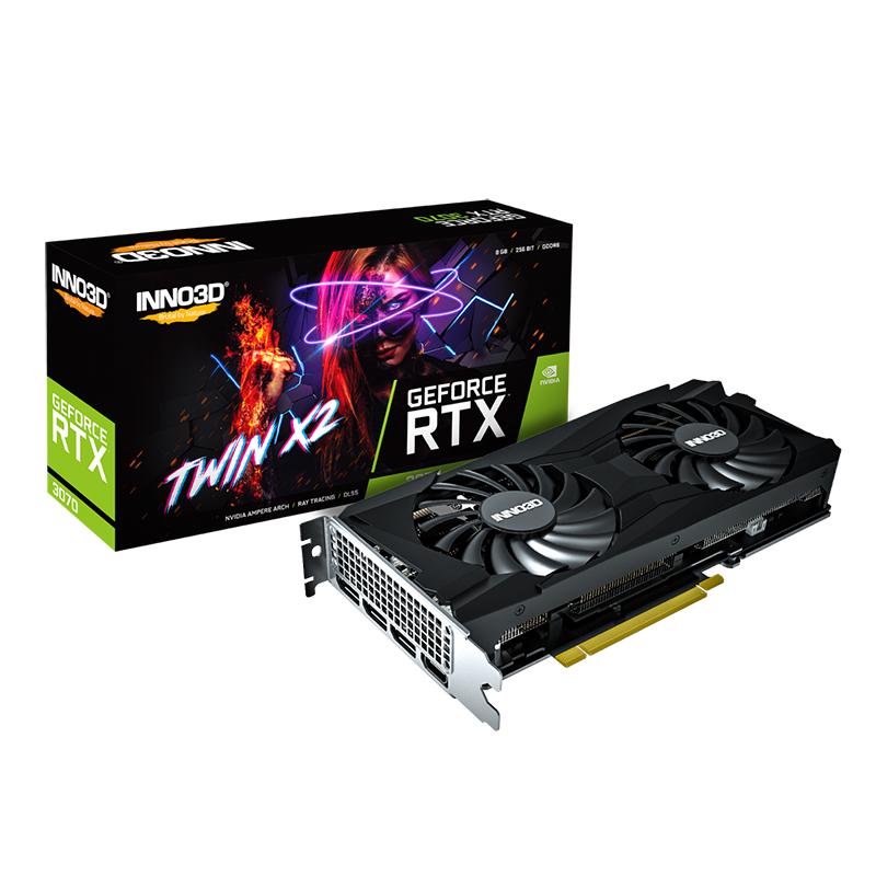 Inno3D GeForce RTX 3070 Twin X2 8G Graphics Card