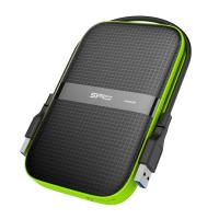 Silicon Power 1TB A60 Shockproof & IPX4 Water-resistant External Hard Drive USB3.0 For PC,MAC,XBOX,PS4,PS5