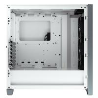 Corsair iCUE 4000X RGB TG Mid Tower ATX Case - White