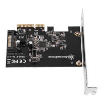 SilverStone USB 3.2 Internal 20 Pin PCIe Expansion Card