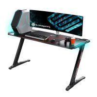 Eureka Ergonomic Z60 RGB Gaming Desk - Black