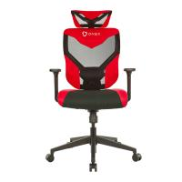 ONEX Black Vida Ergonomic Gaming Chair - Black/Red