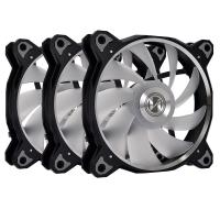 Lian Li Bora Digital 120mm ARGB PWM Fan Black - 3 Pack