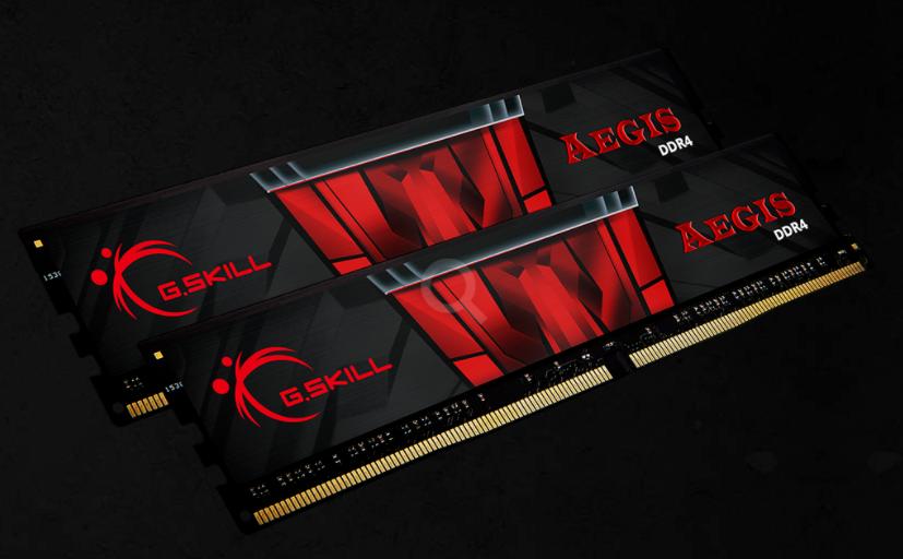 G.Skill 16GB (2x8GB)F4-3000C16D-16GISB DDR4 3000MHZ 16-18-18-38 1.35V DIMM