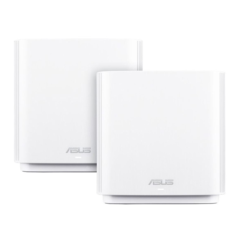 Asus ZenWiFi CT8 AC3000 Tri Band Whole Home Mesh WiFi System White - 2 Pack