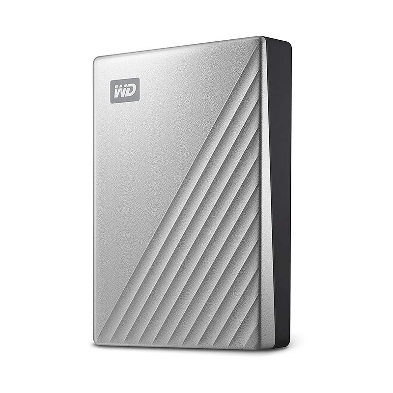 Western Digital 4TB My Passport Ultra USB 3.0 External HDD - Silver