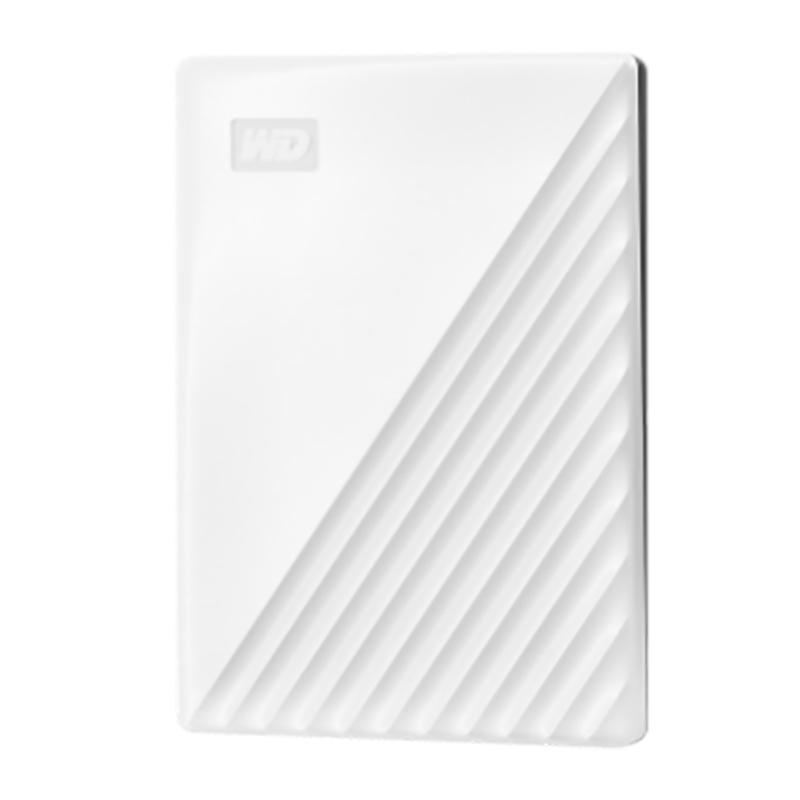 Western Digital 1TB My Passport USB 3.2 External HDD - White
