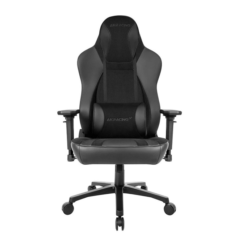 AKRacing Obsidian Gaming Chair - Black Soft Touch Suede