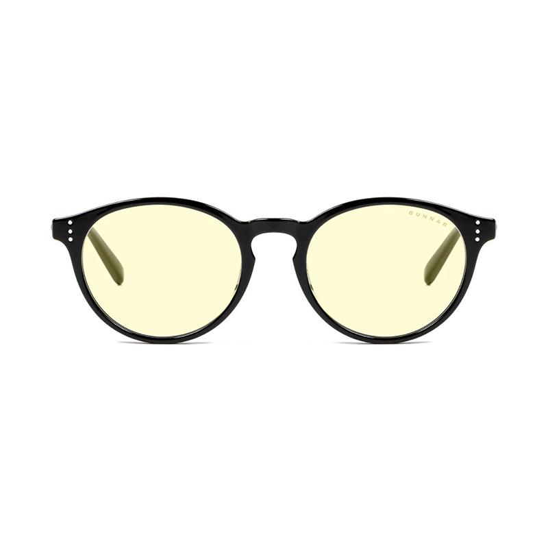 Gunnar Attache Onyx Amber Indoor Digital Eyewear