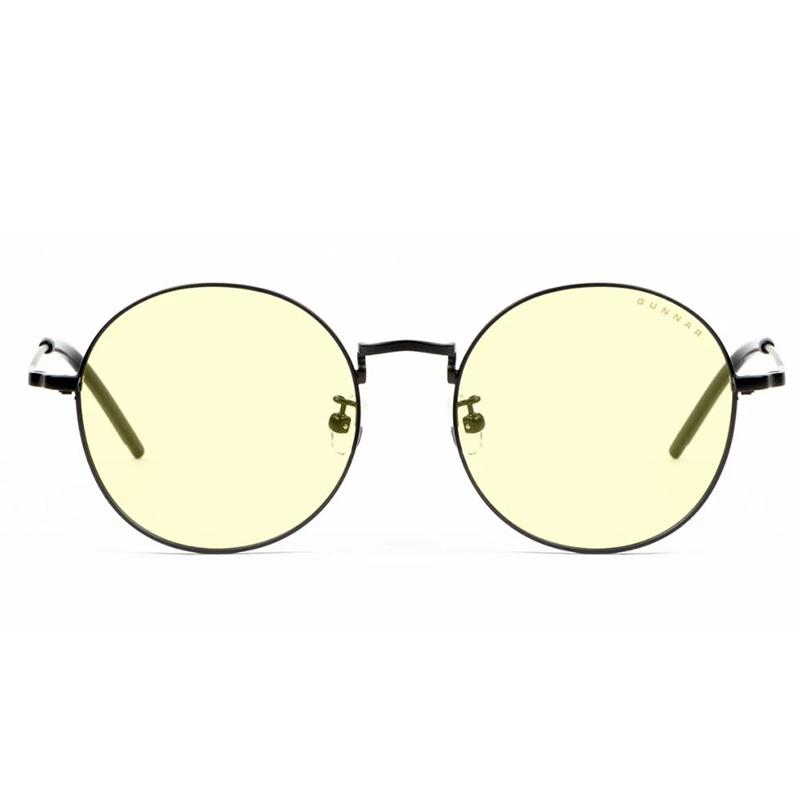 Gunnar Ellipse Amber Onyx Indoor Digital Eyewear Holiday Bundle