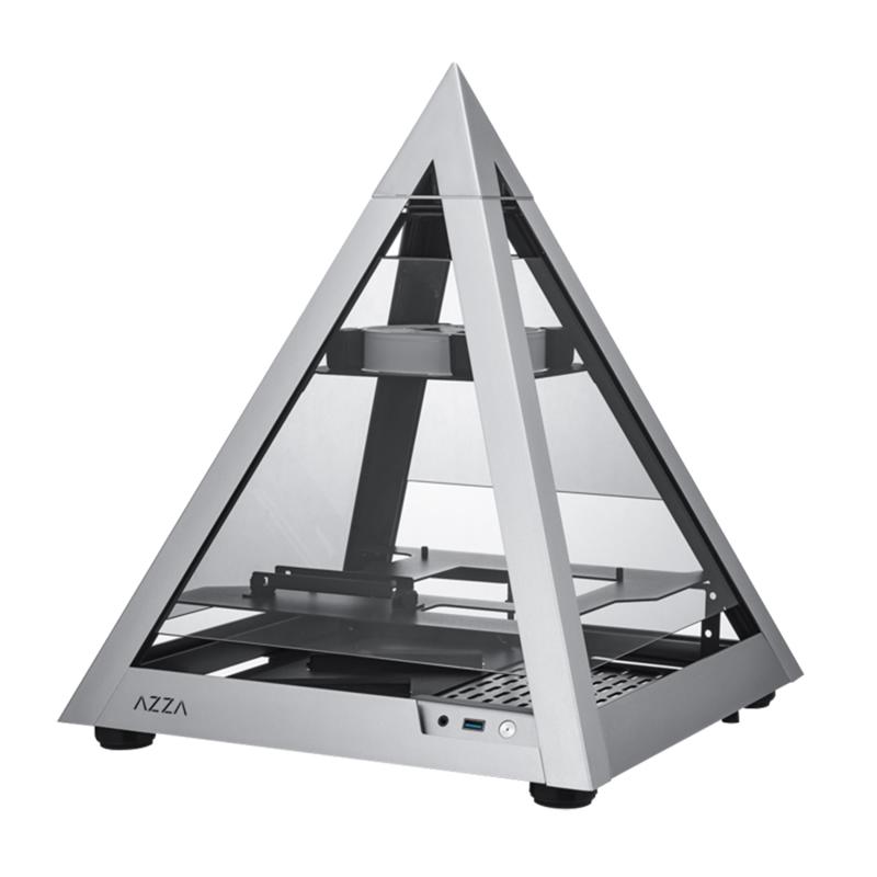 Azza 806 Mini Pyramid TG ARGB Mini ITX Case