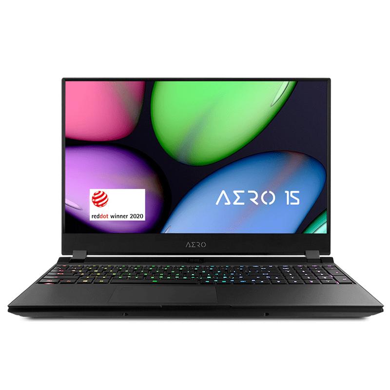 Gigabyte Aero 15.6in FHD 144Hz i7-10875H RTX2070 Super 512GB SSD Gaming Laptop (AERO15 XB-8AU2130SH)
