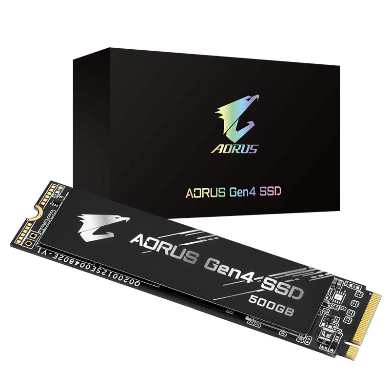 Gigabyte 500GB Aorus Gen4 M.2 NVMe SSD