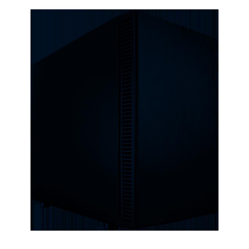 Fractal Design Define Nano S Mini ITX Case - Black