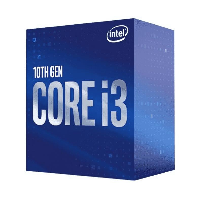 Intel Core i3-10100F Quad Core LGA 1200 3.6GHz CPU Processor